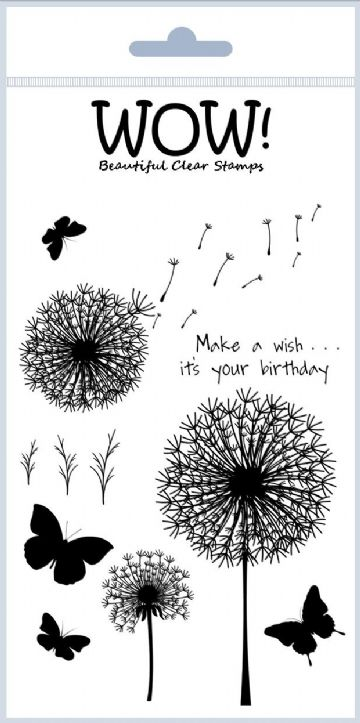 Make A Wish - ME Clear Stamp Set